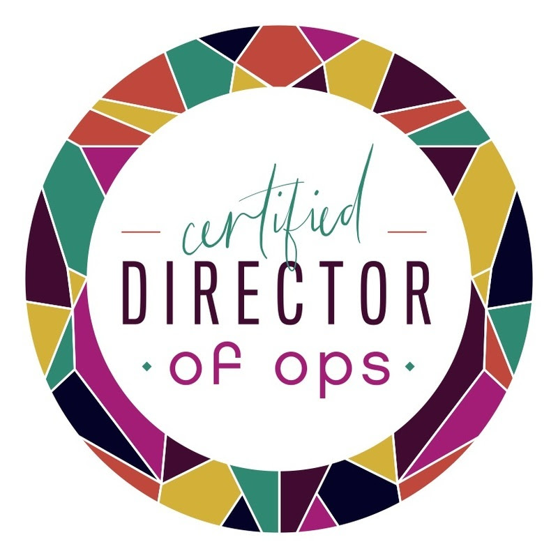 Certified director of ops badge