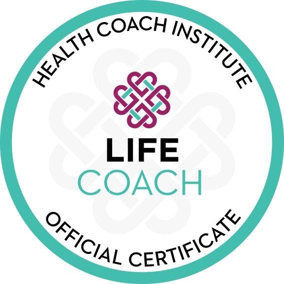 Health Coach Institute Certified Life Coach Seal